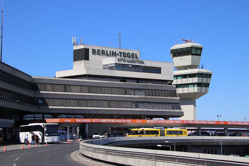 Transporte do aeroporto ao centro de Berlim