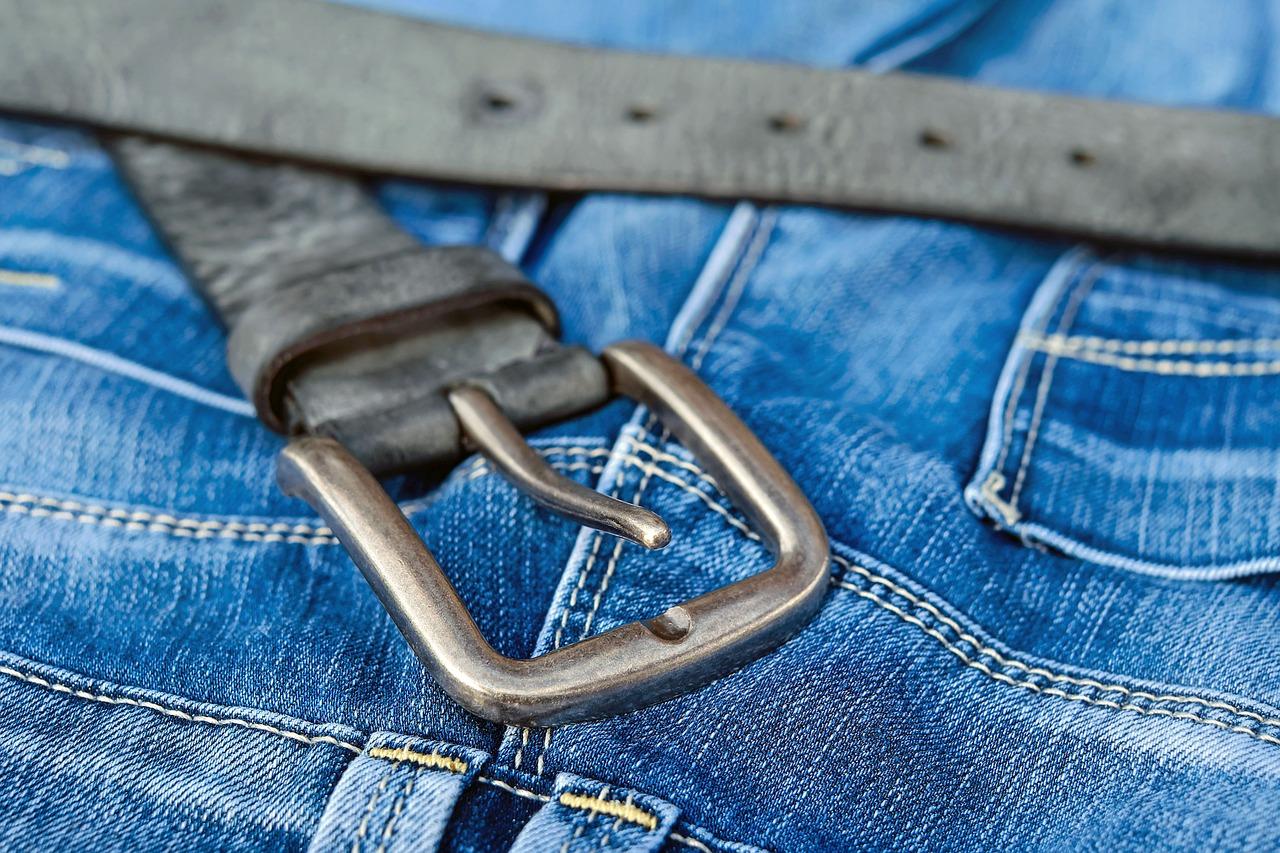 cinto calça jeans