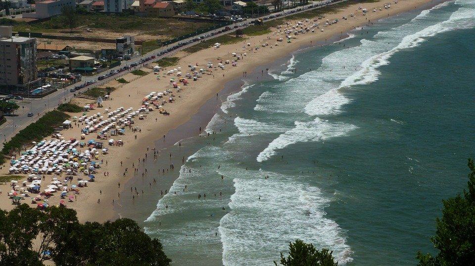 Itajaí é uma das praias Santa Catarina