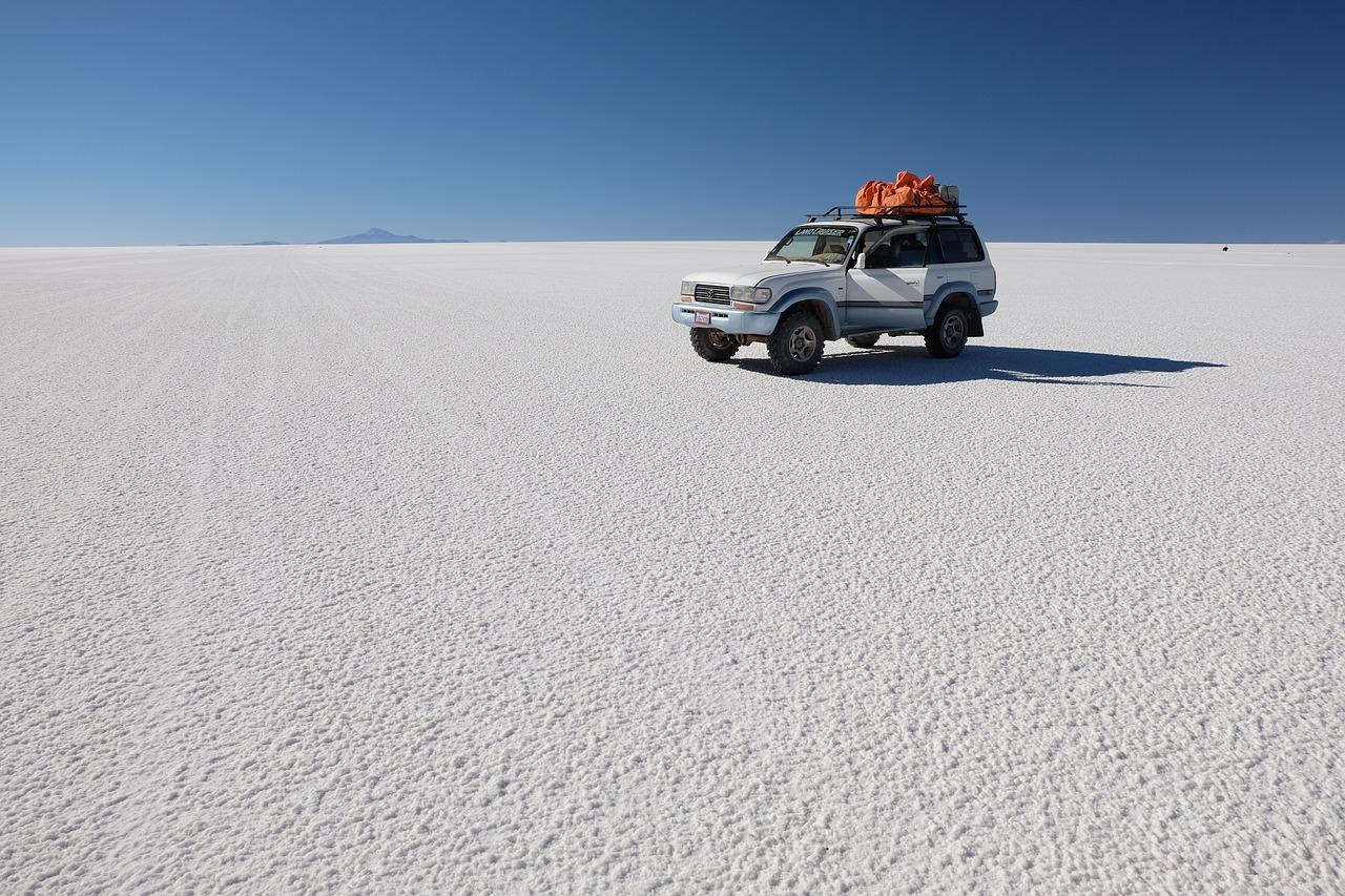 deserto de sal na bolivia