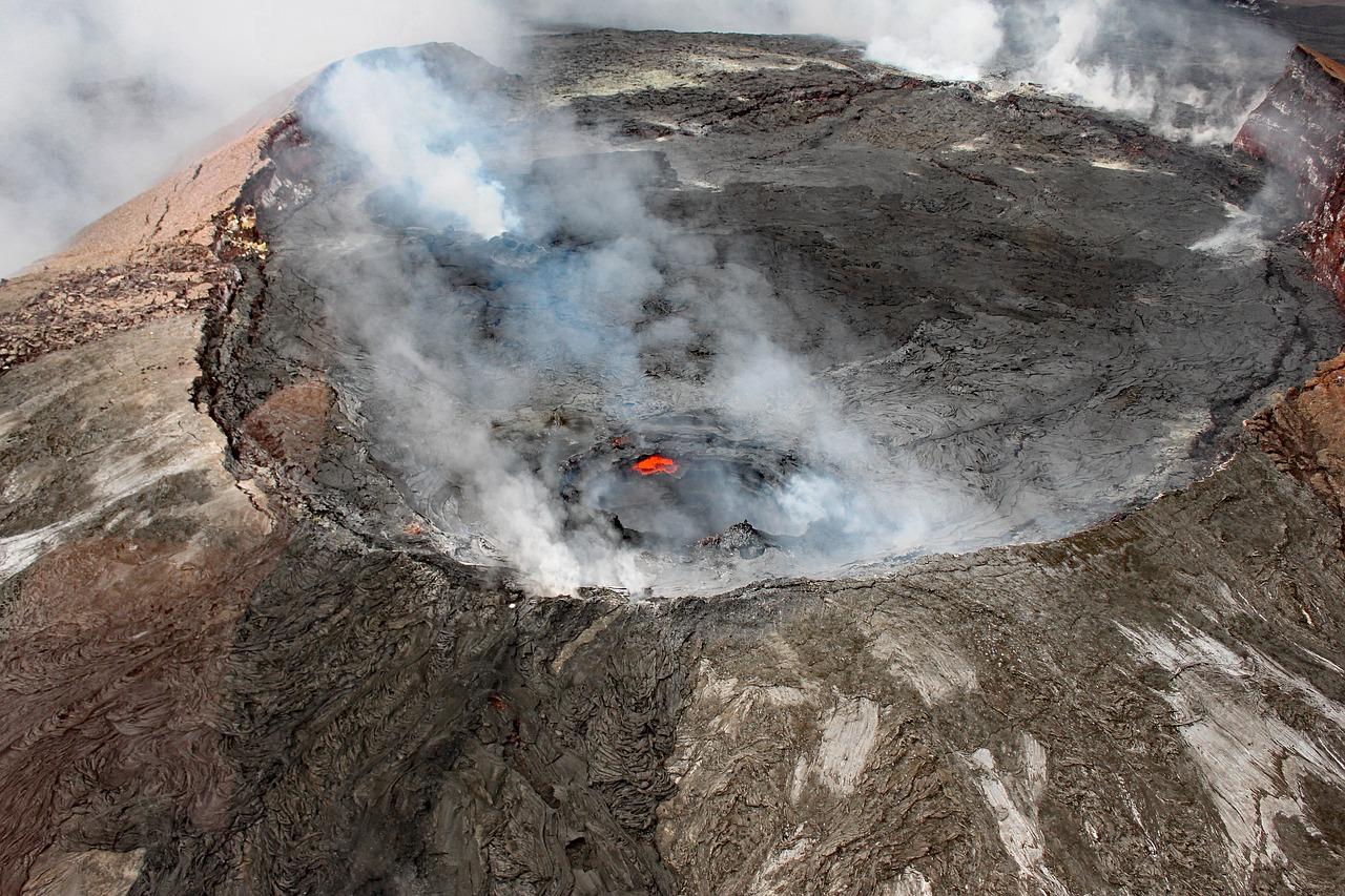 vulcão dos estados unidos
