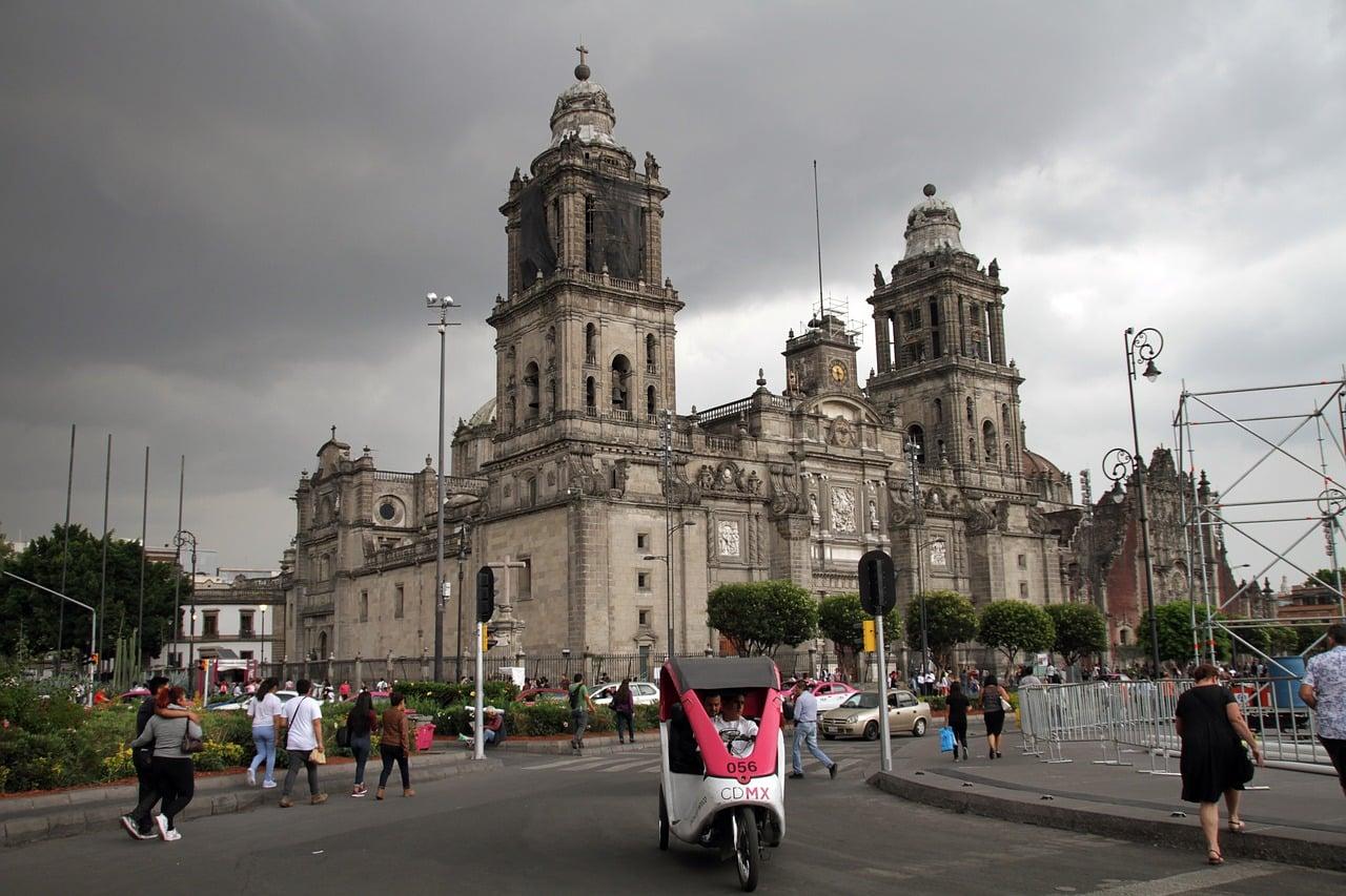 igrejas na cidade do mexico