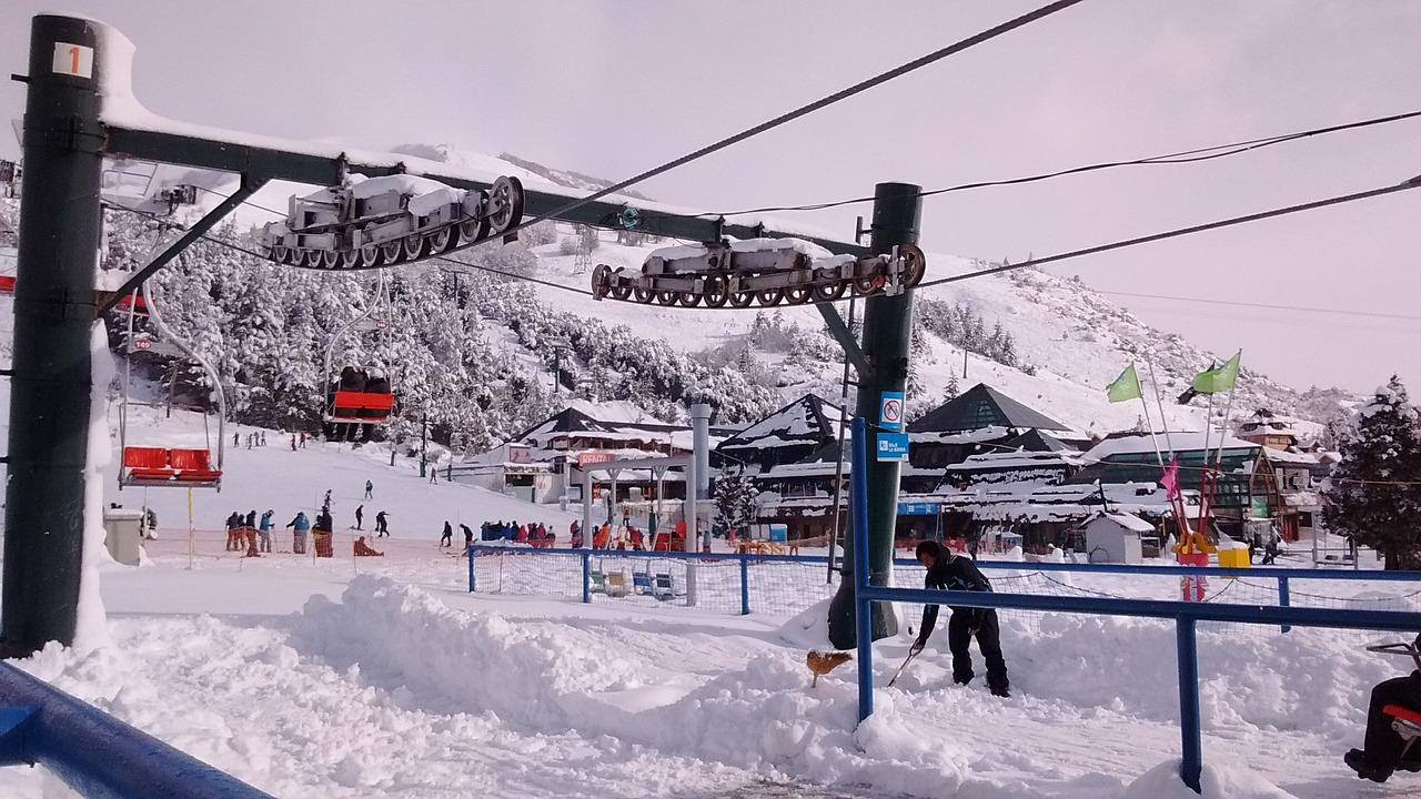 neve na argentina