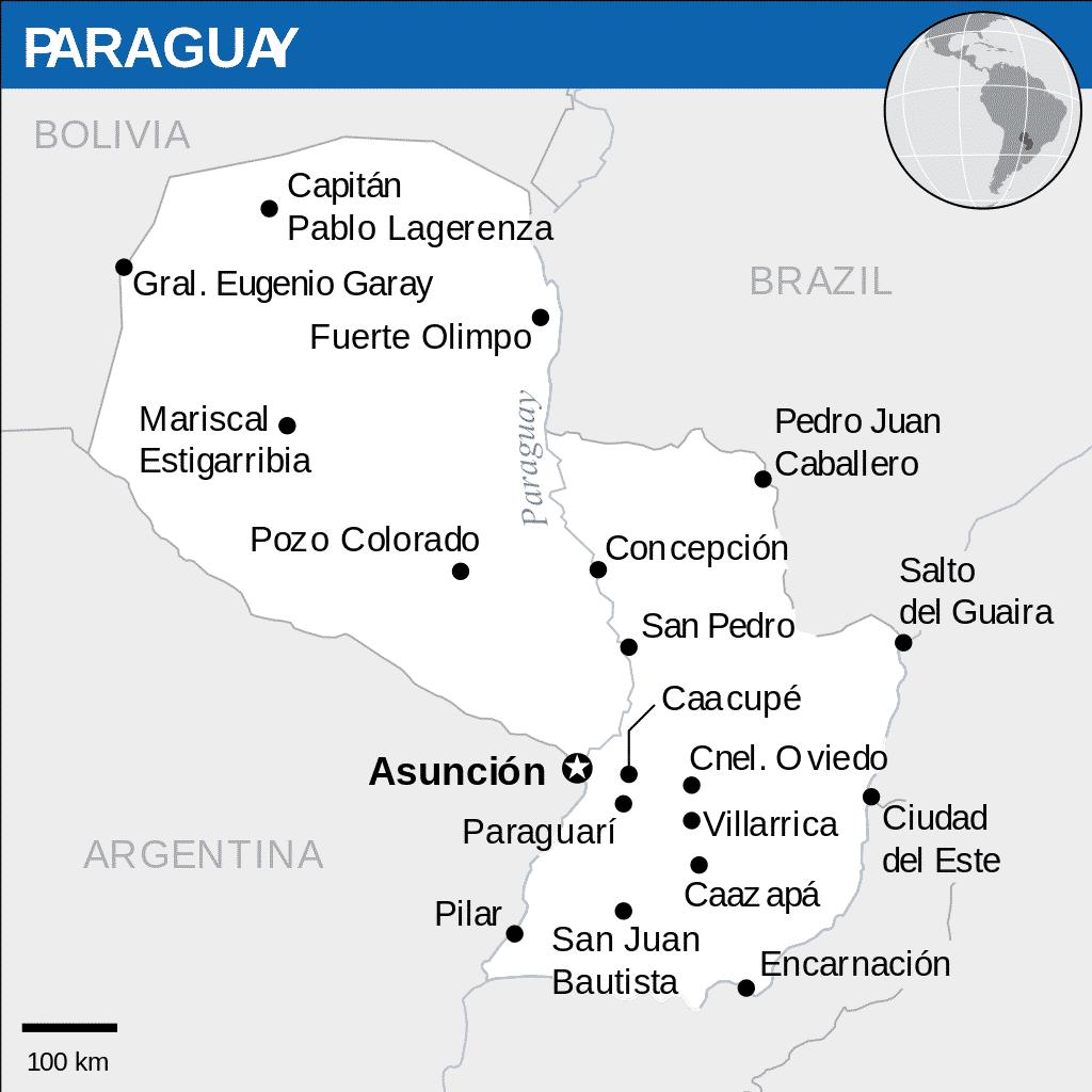 turismo no paraguai