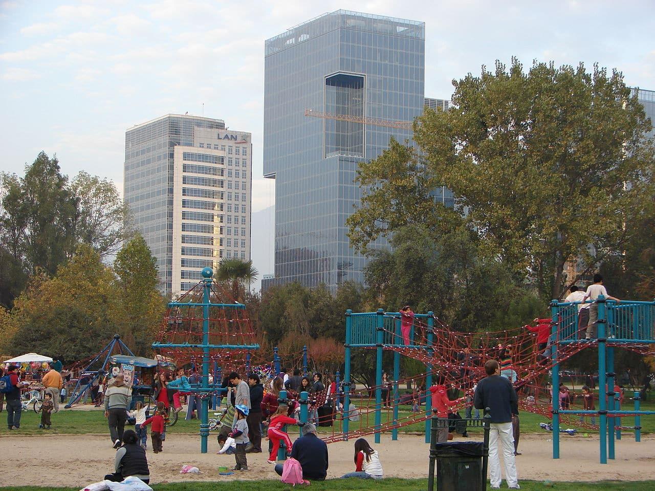 parques em santiago