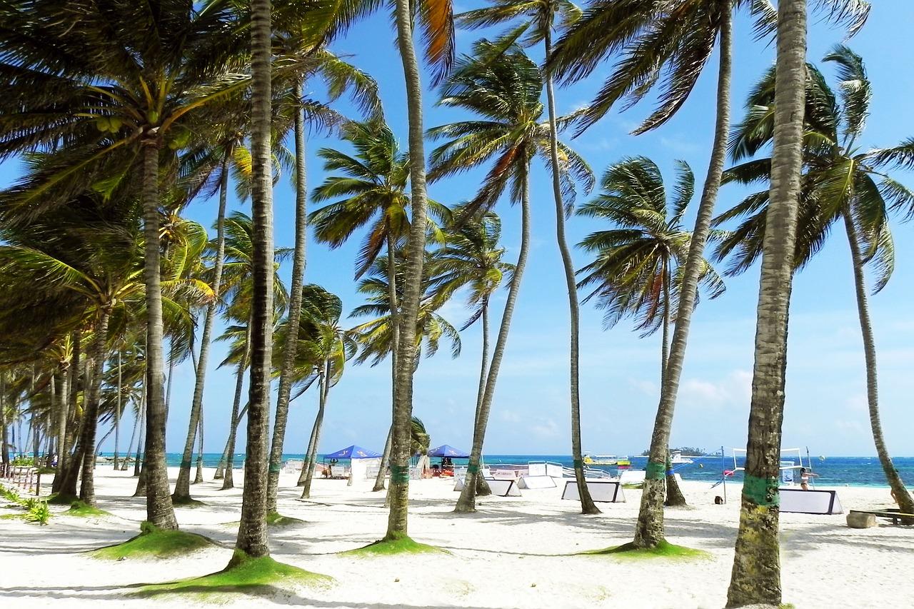 praias da colombia