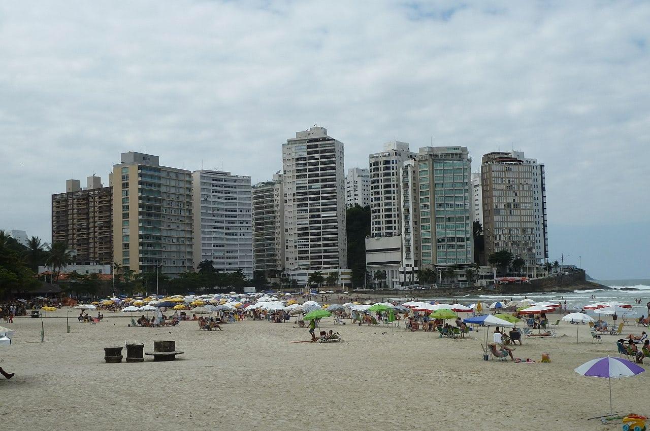 Principais praias dos Guarujá