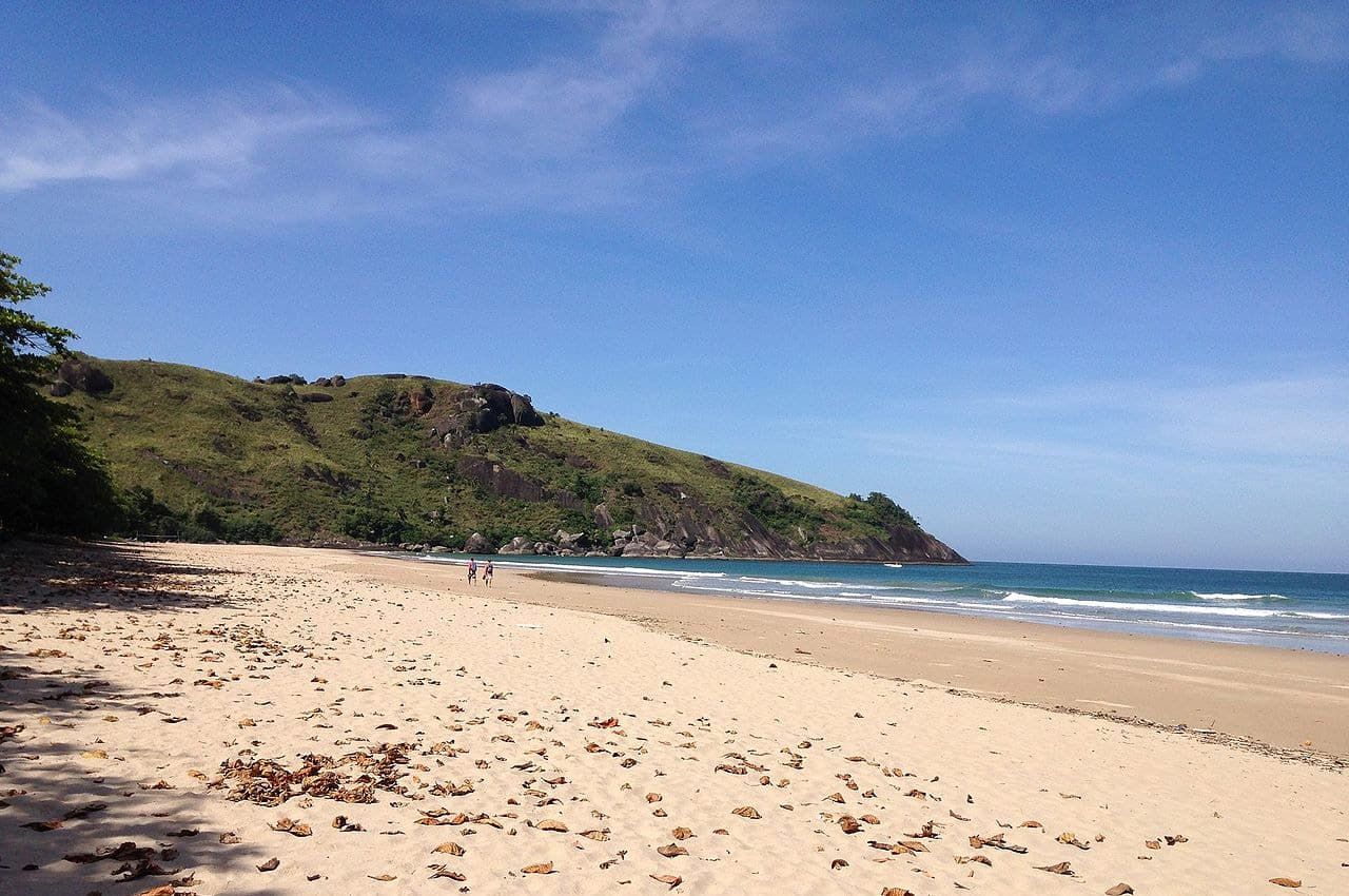 Praia do Bonete Ilhabela