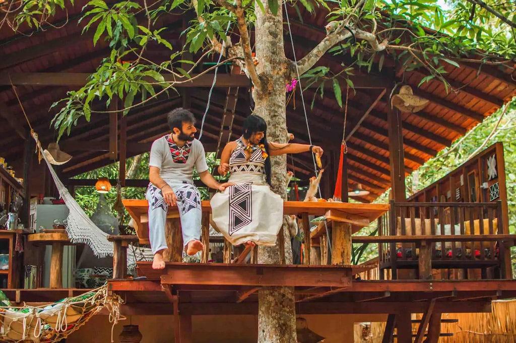 casas românticas airbnb