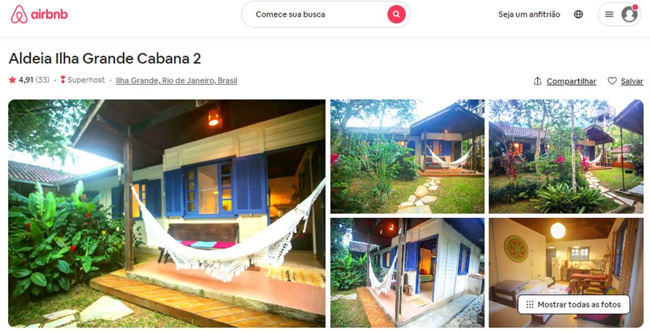 airbnb angra dos reis -frade