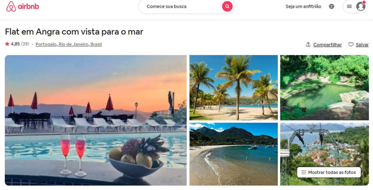 melhores airbnb em angra dos reis