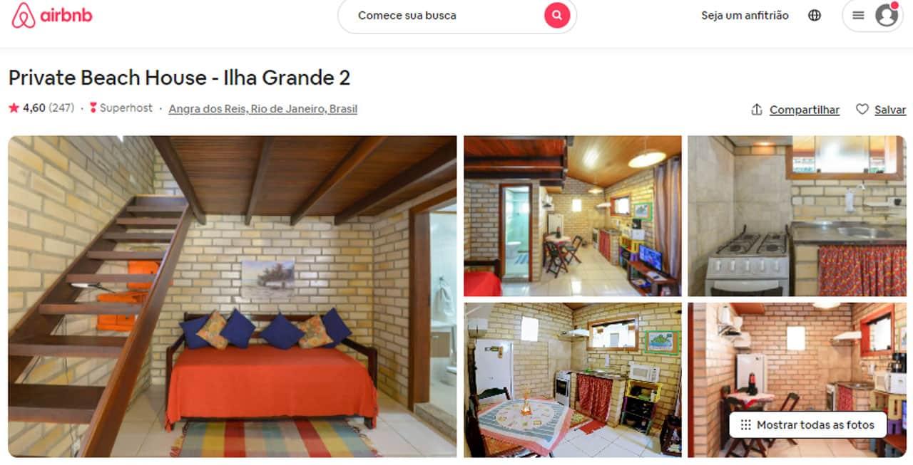 Airbnb em Angra dos Reis - Ilha Grande
