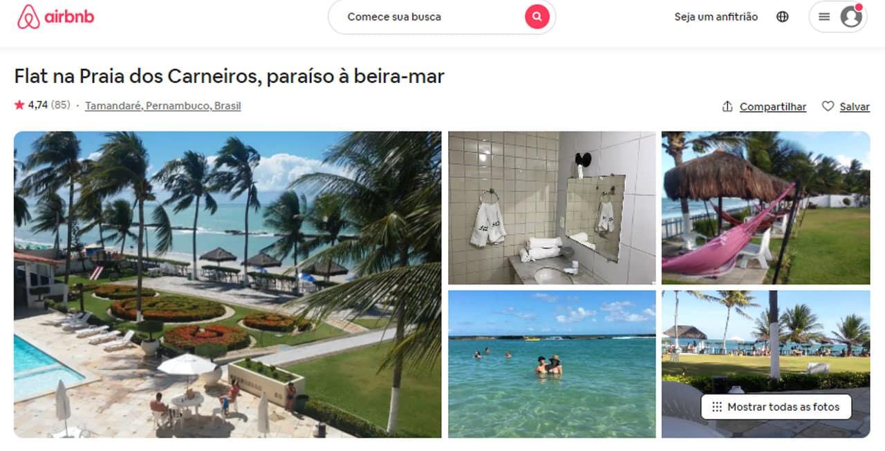 Airbnb Carneiros - Tamandaré