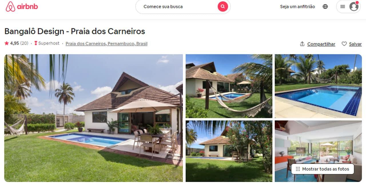 dicas do Airbnb Carneiros