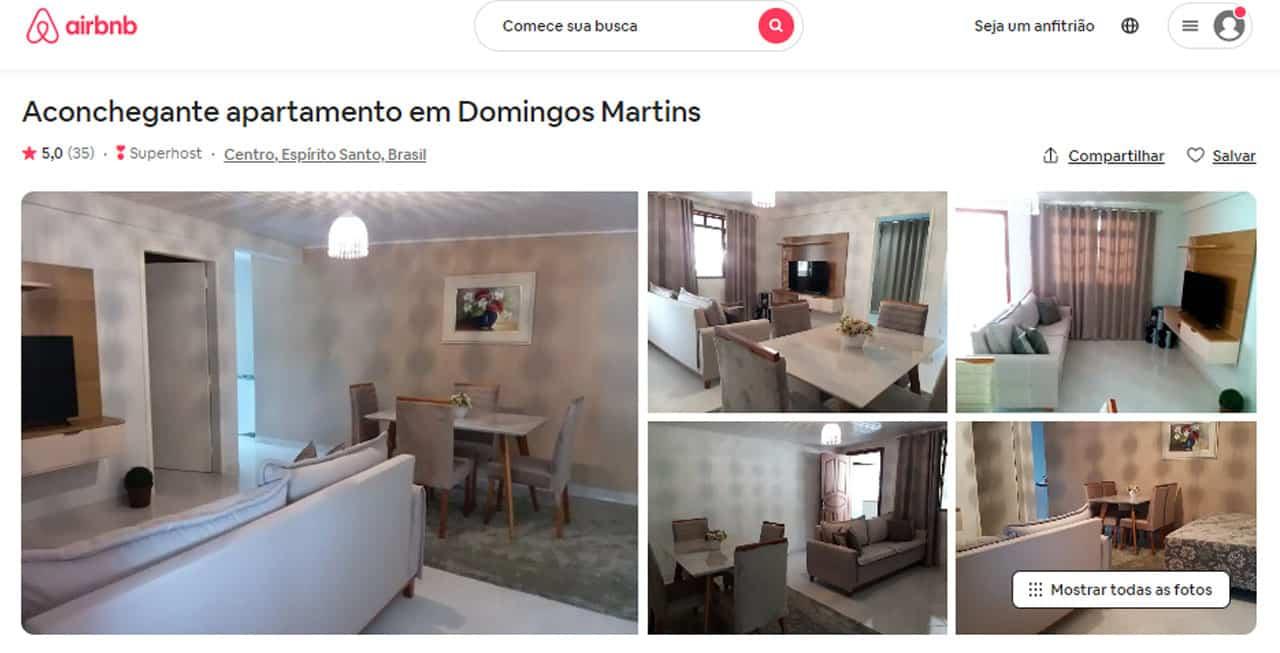 airbnb em Domingos Martins apartamentos