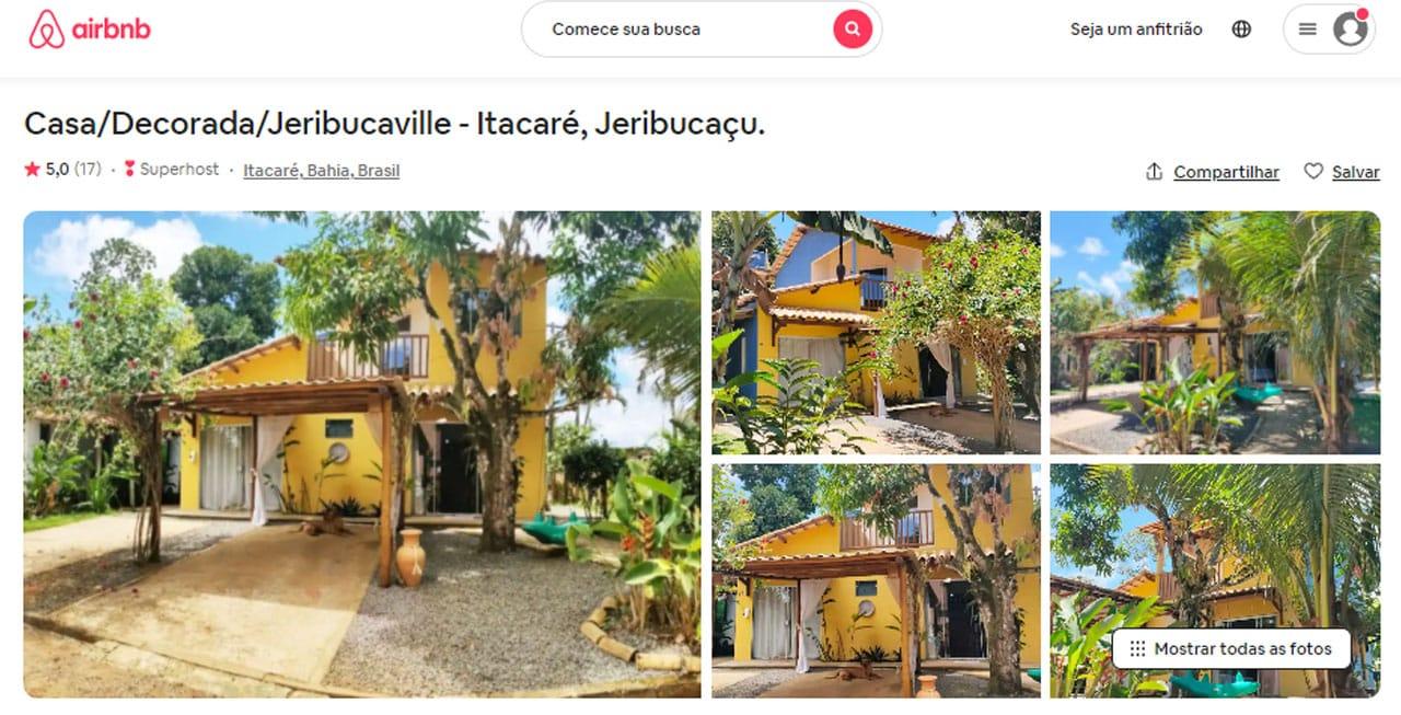 airbnb itacaré dicas