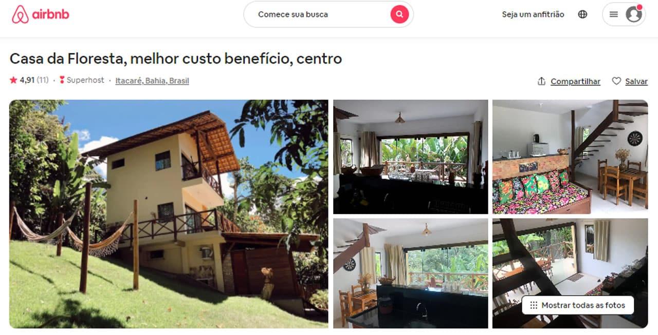 airbnb itacaré centro