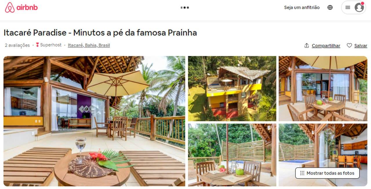 airbnb itacaré casas