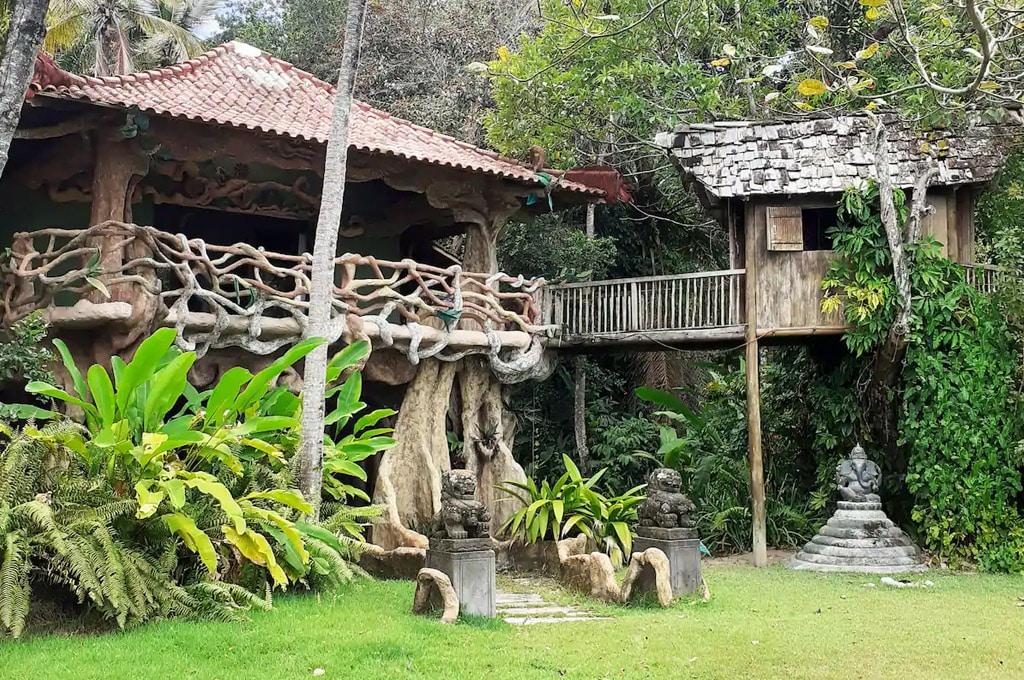casa na árvore airbnb