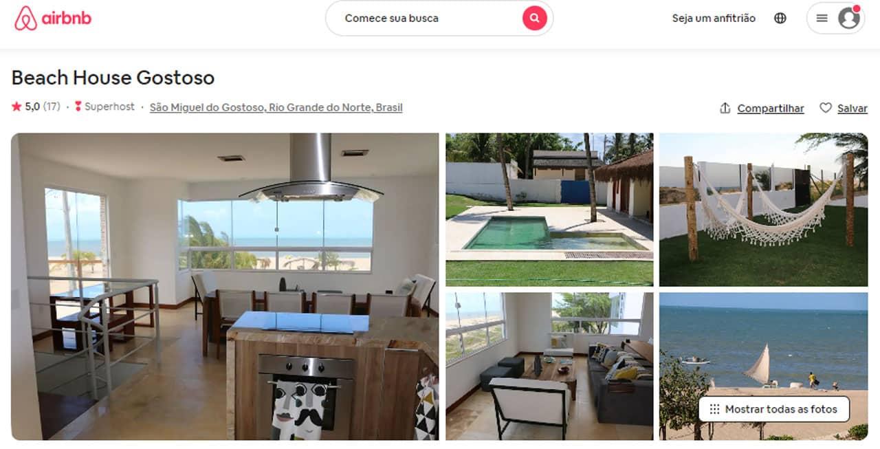 airbnb são miguel do gostoso petfriendly
