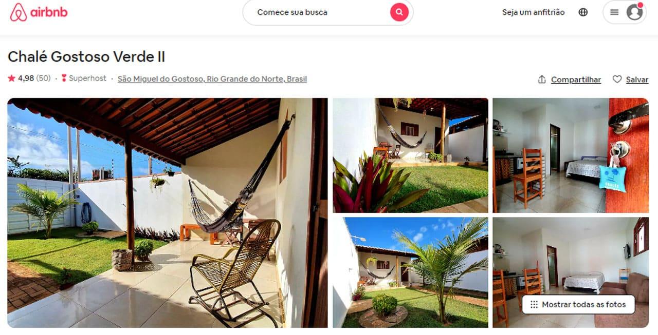 airbnb são miguel do gostoso com vista para o mar