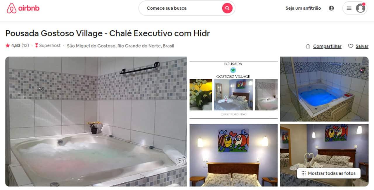 airbnb são miguel do gostoso pousada