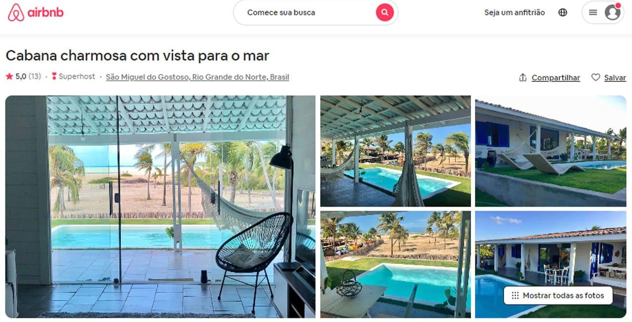 airbnb são miguel do gostoso superhost