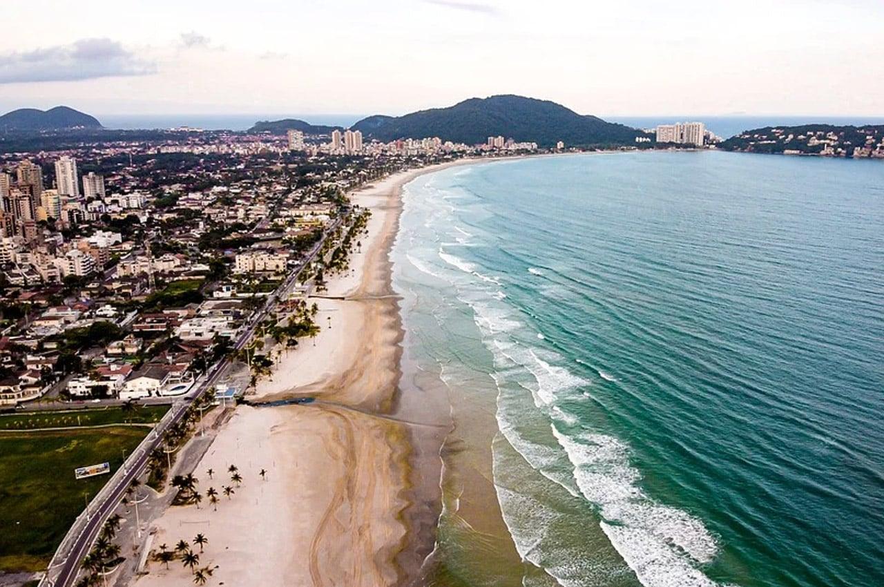 Lugares para viajar em SP Guarujá