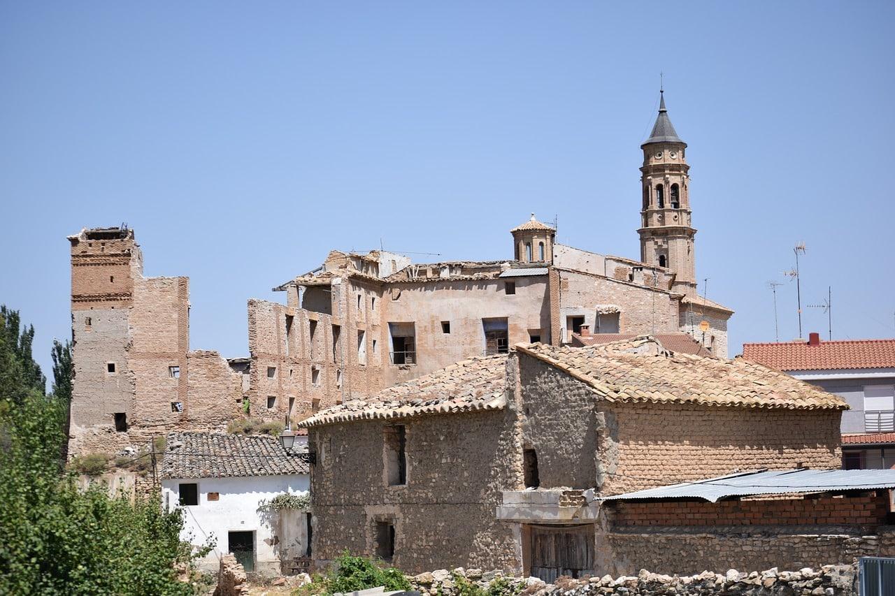 lugares abandonados na espanha