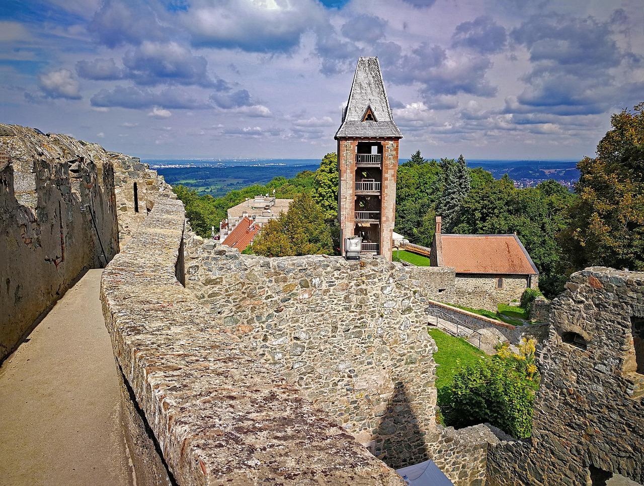 castelos abandonados