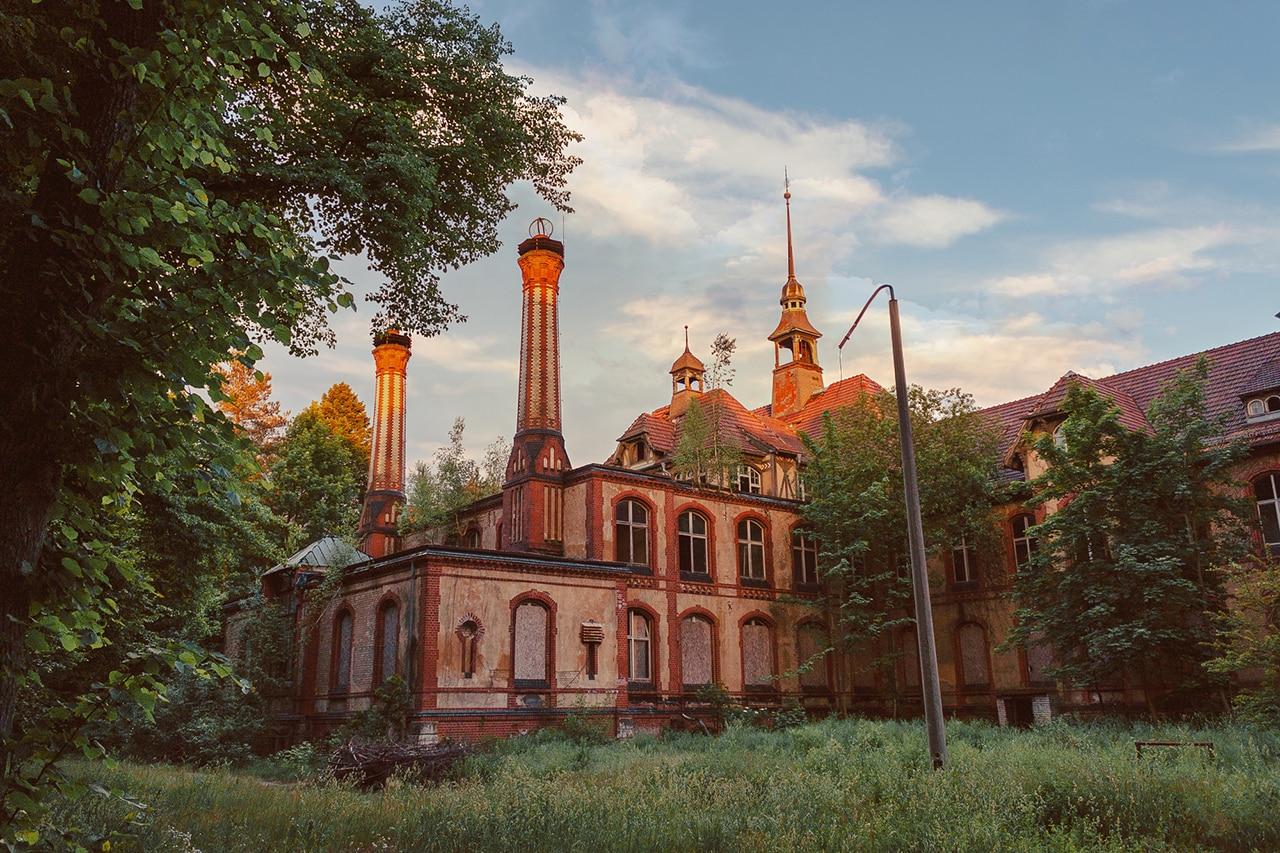 hospitais abandonados na alemanha