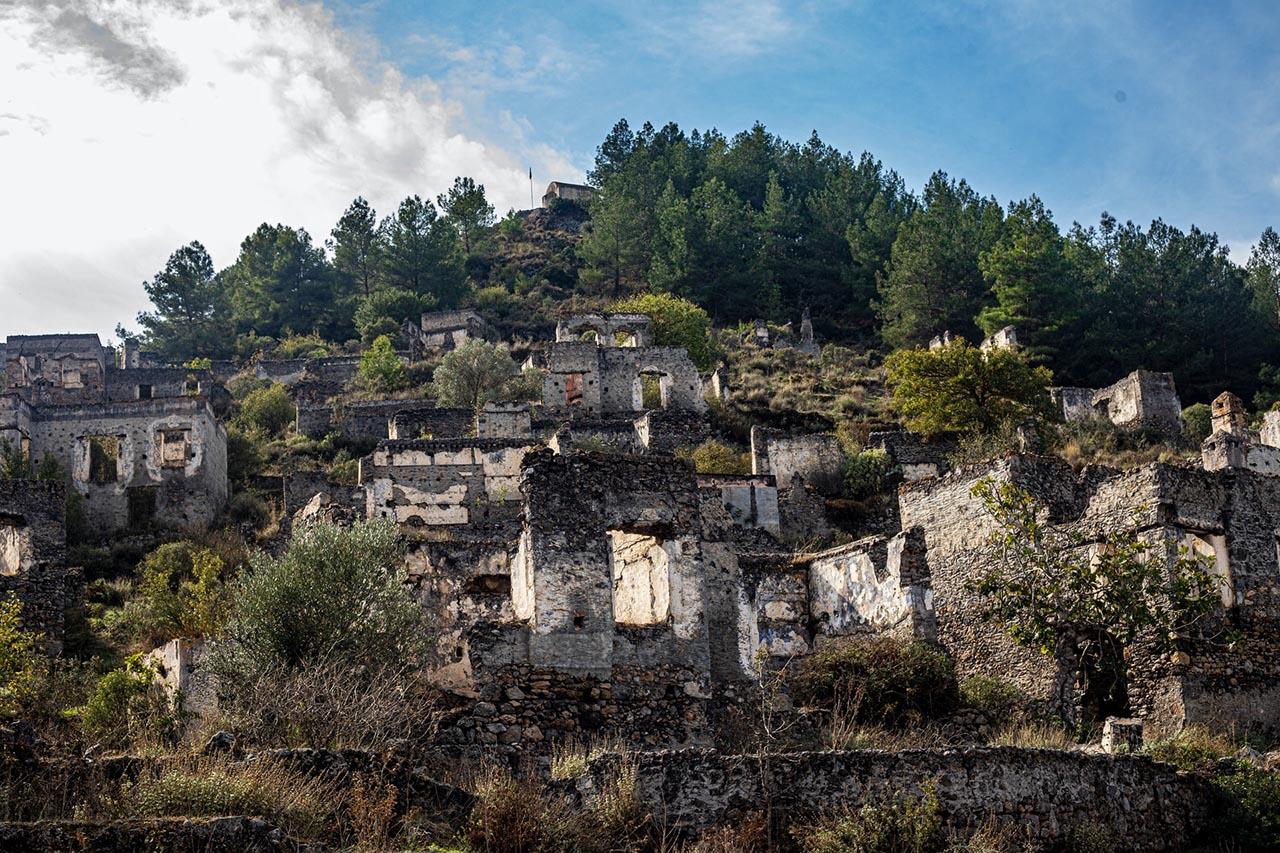lugares abandonados na turquia