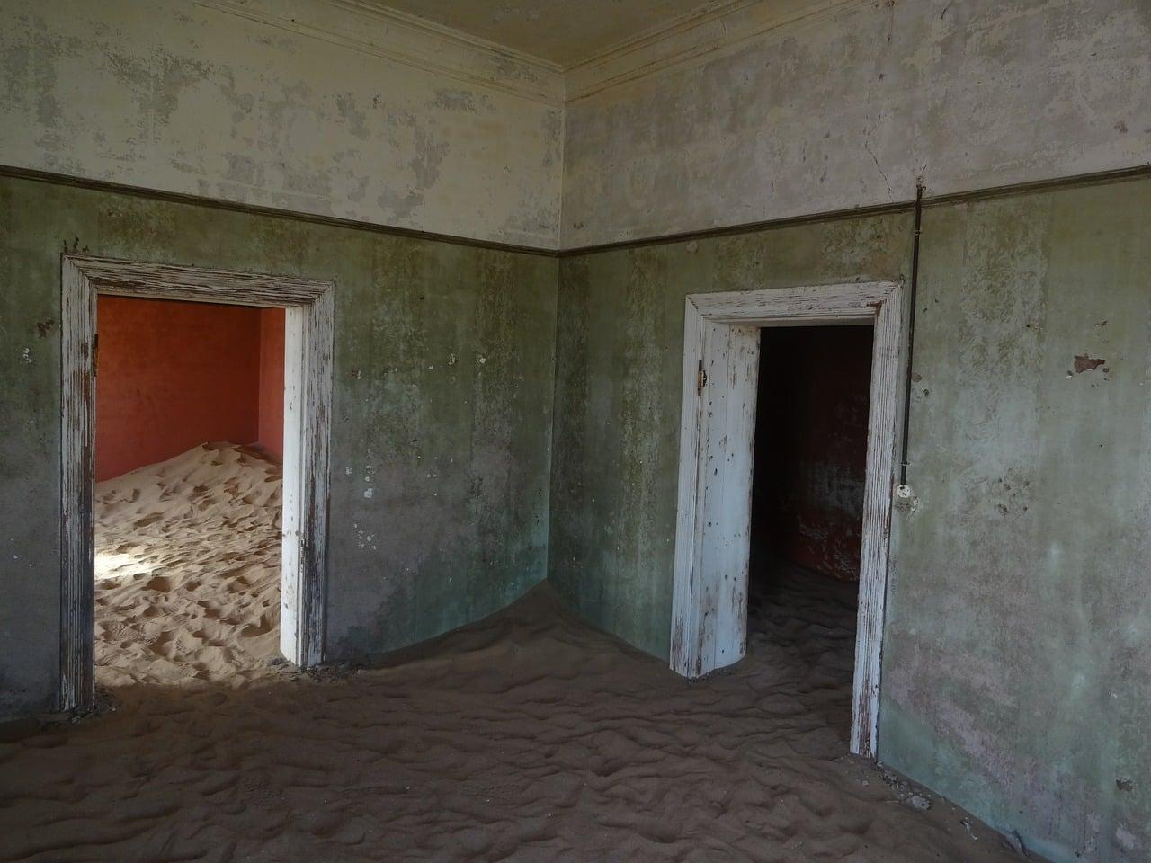 lugares desertos abandonados
