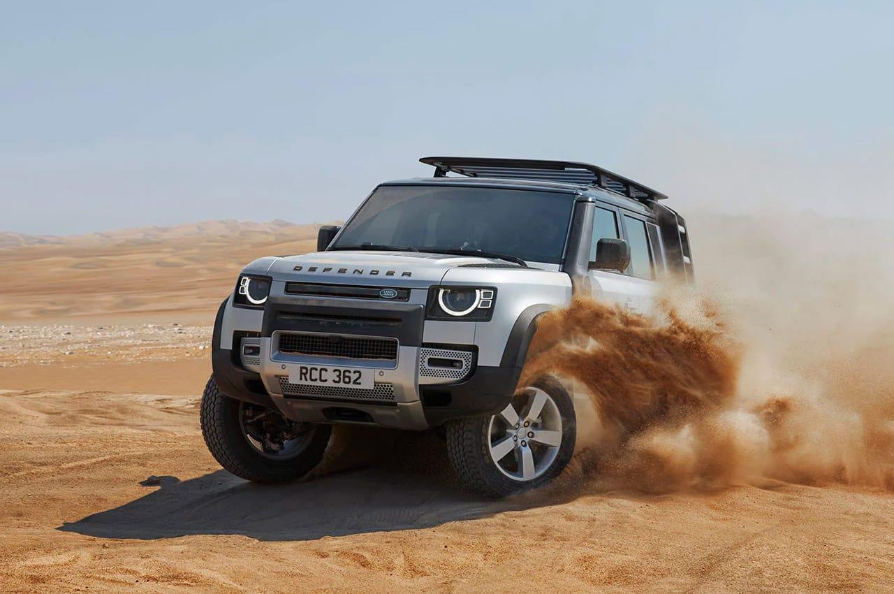Carros land rover para viajar