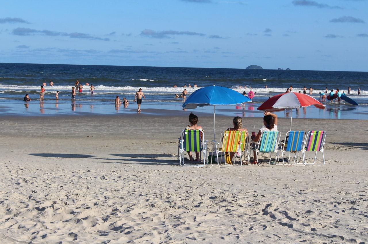 praias do Paraná