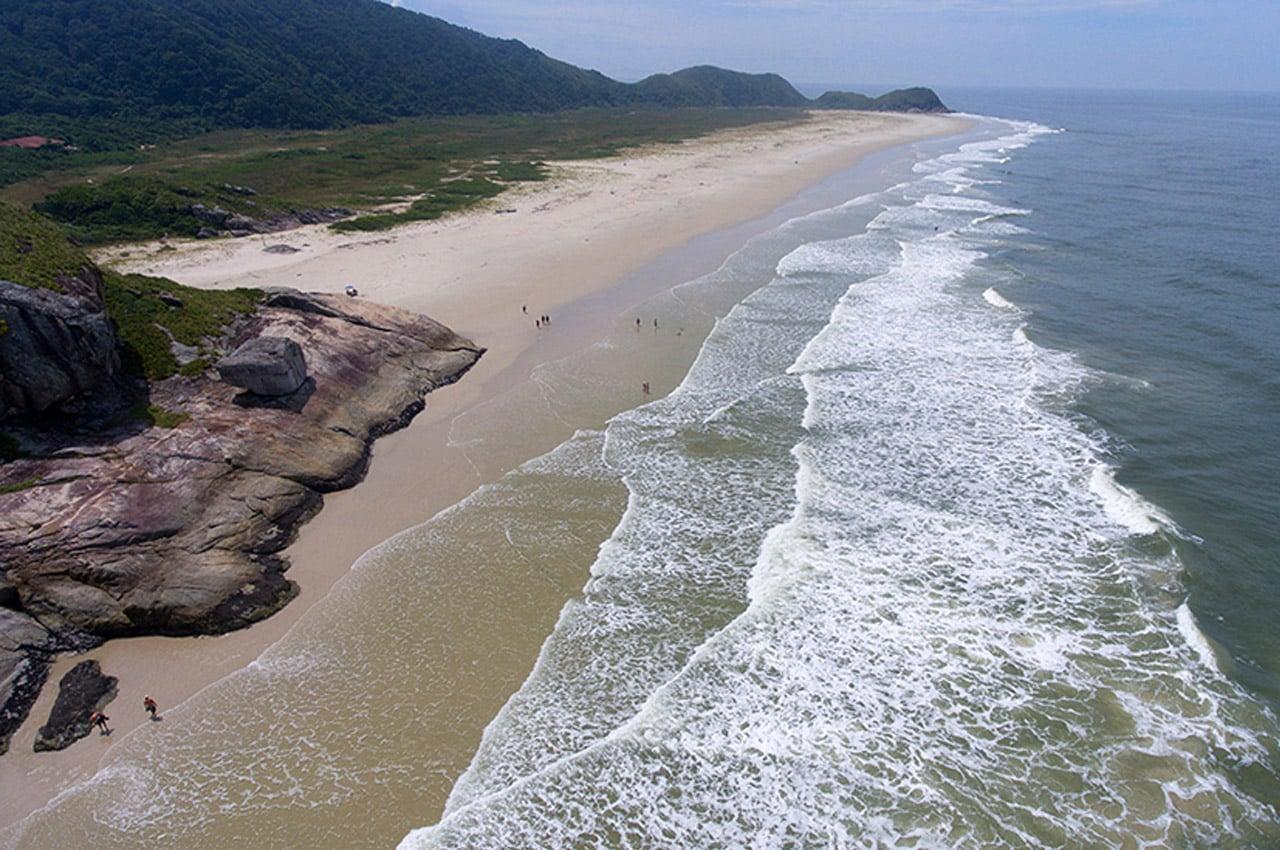 Praia da Boia Ilha do Mel