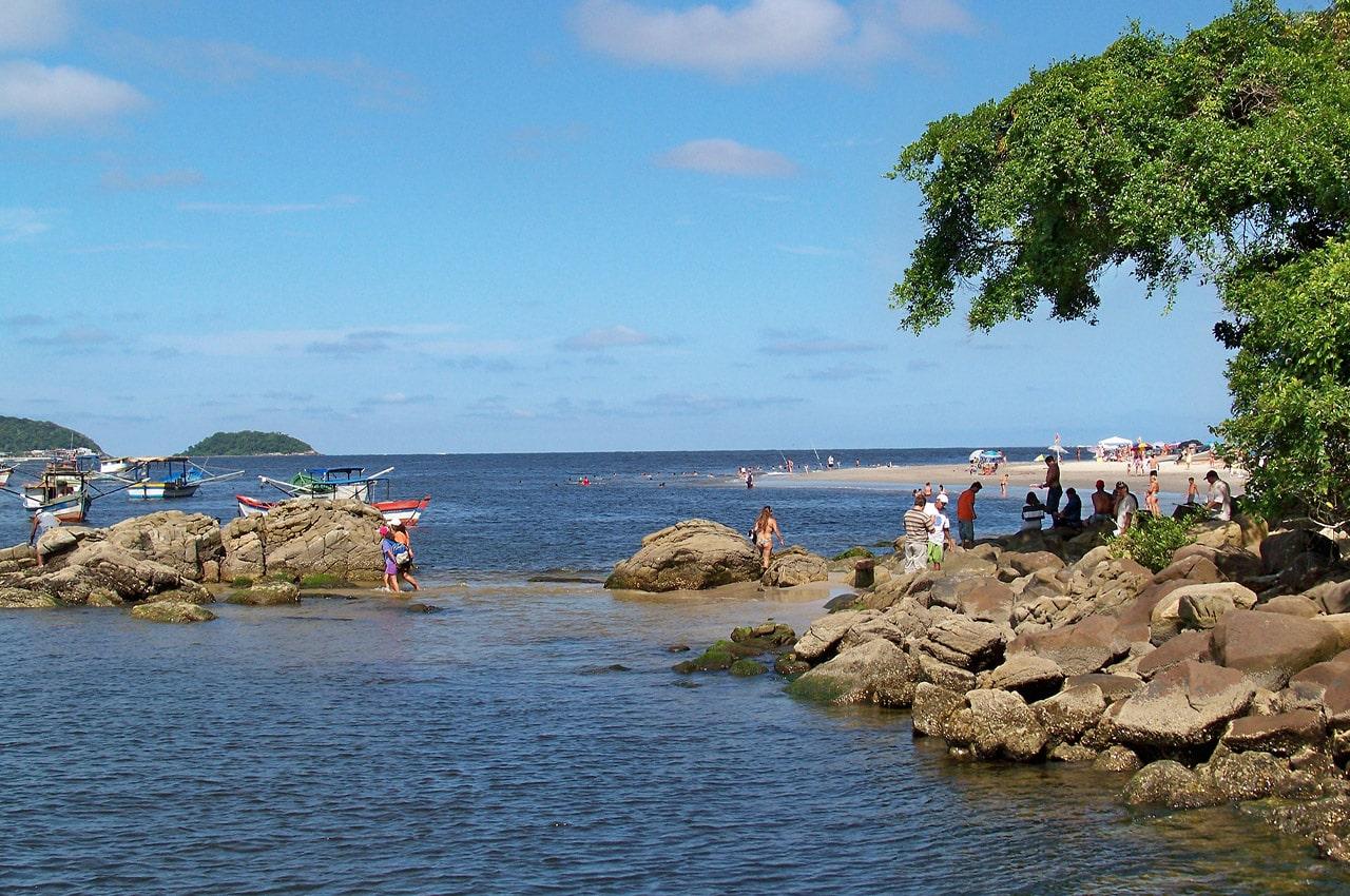 Praias do Paraná Caieiras