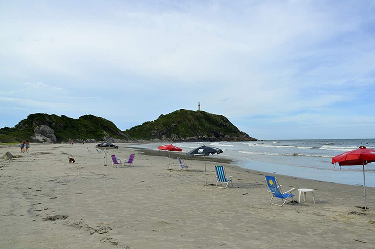 Praias do Paraná praia do farol