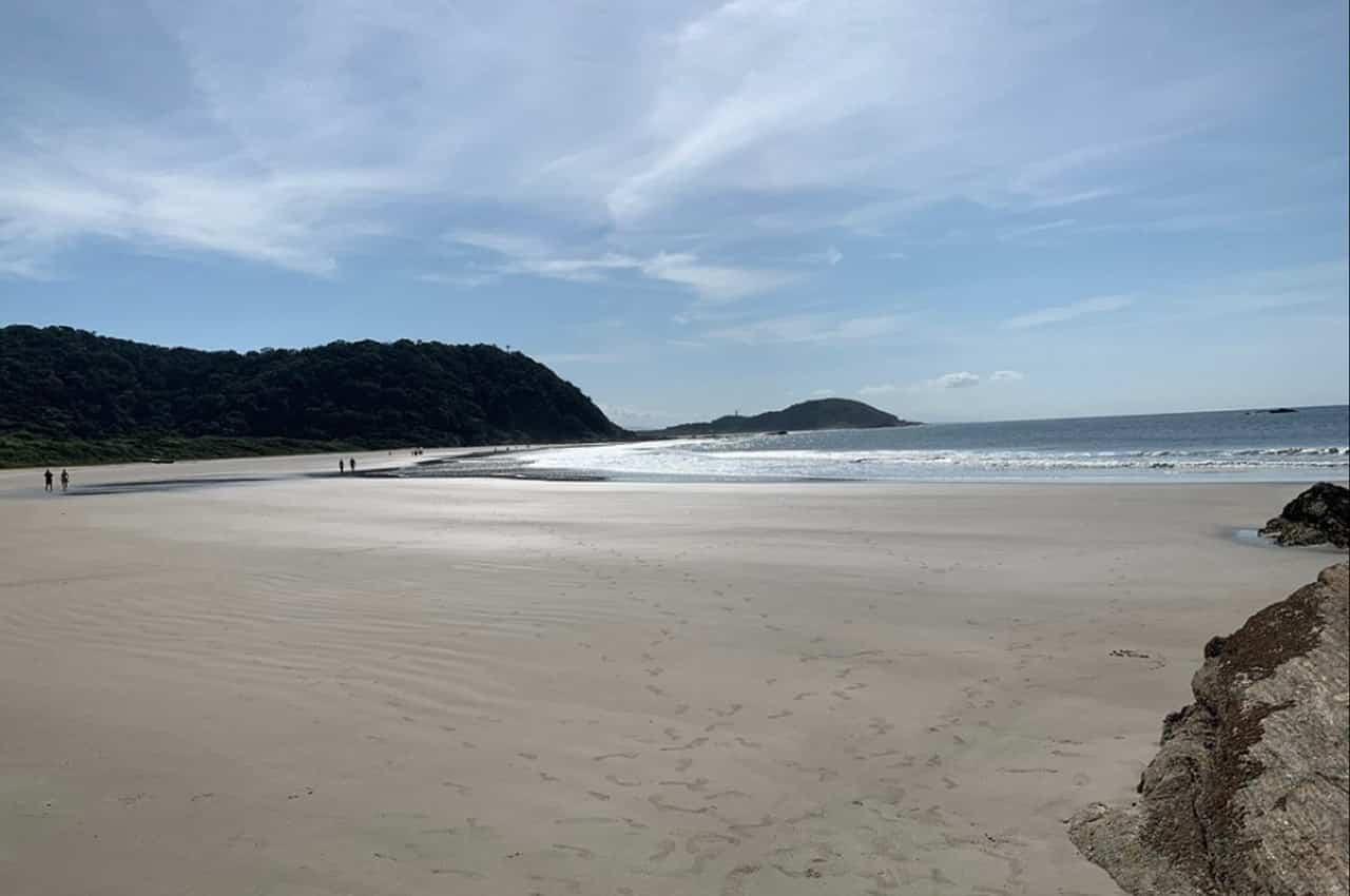 Ilha do Mel praias