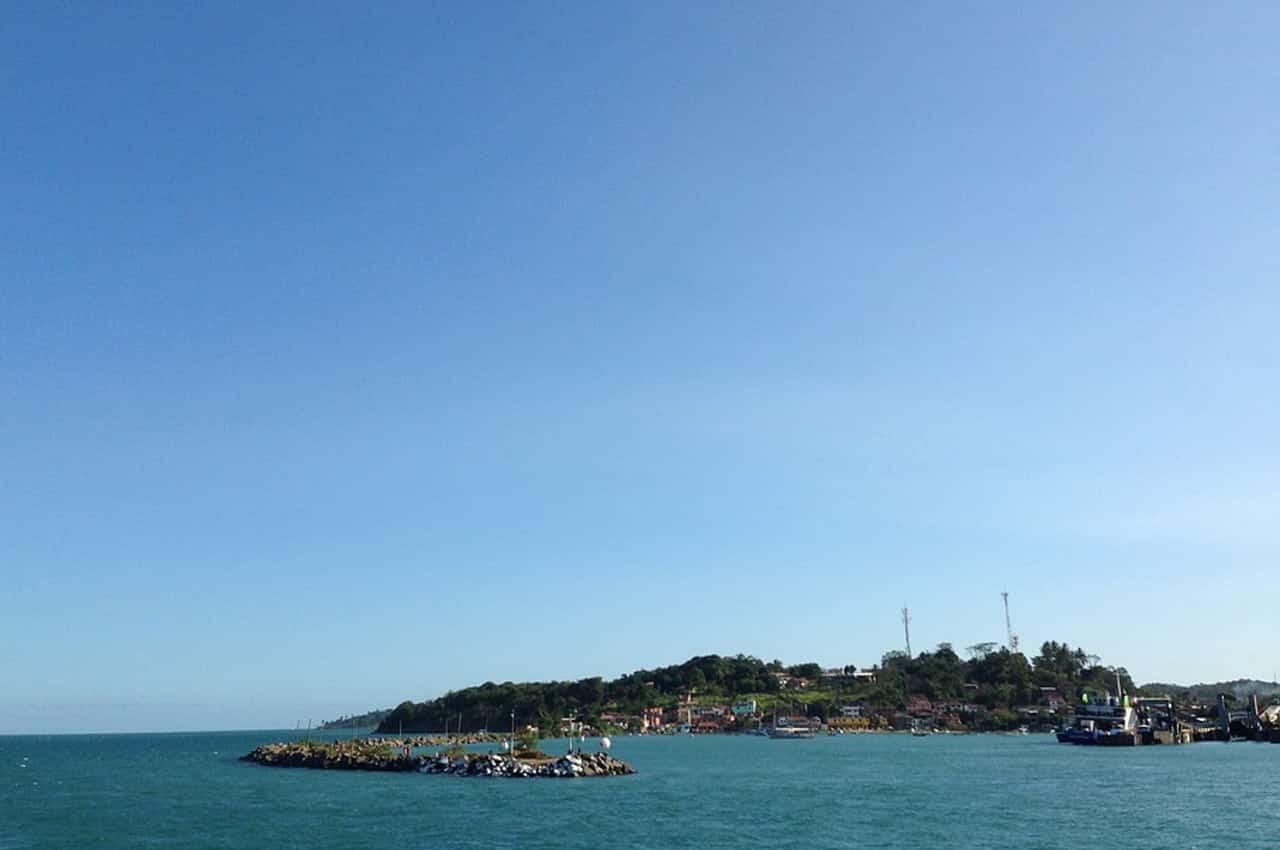 Vitória é uma ilha