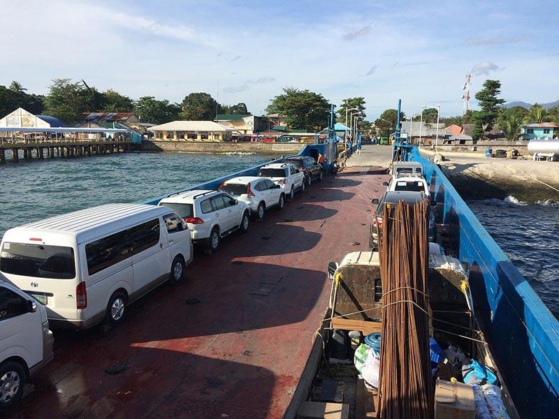 Ferry boats nas Filipinas