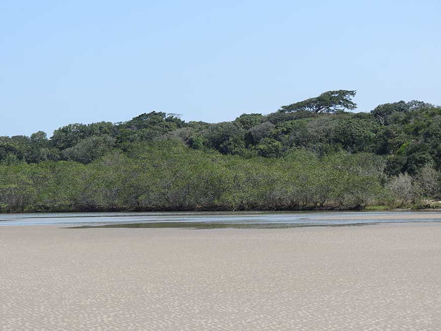Praia de Itaguaré em Bertioga