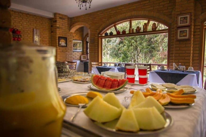 Pousadas em Monte Verde com café da manhã especialmente bom