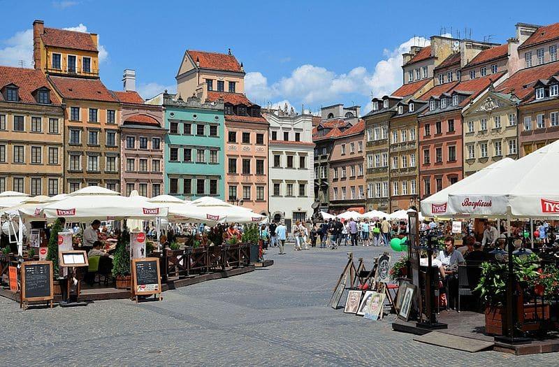 Onde fazer compras em Varsóvia