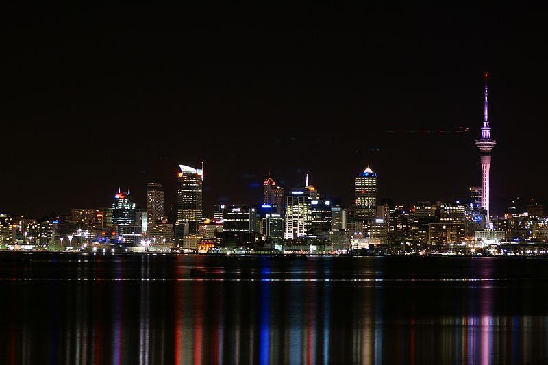 O que fazer em Auckland à noite
