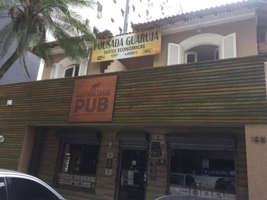 Pousadas baratas no Guarujá