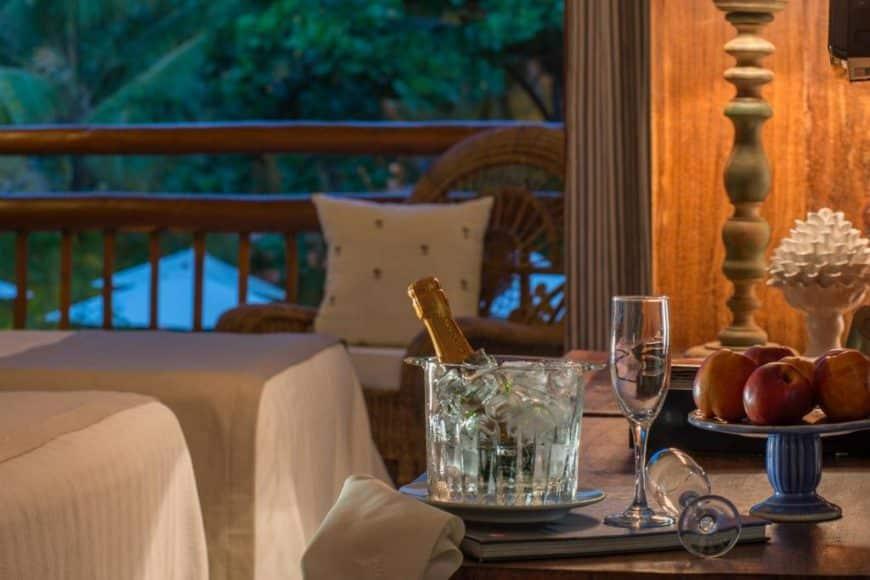 Hotel romântico na Praia do Forte