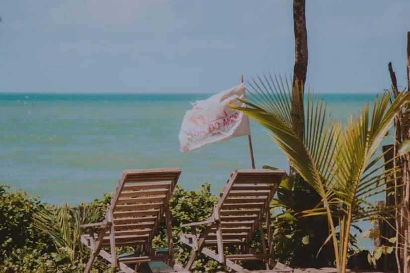 Pousadas beira mar em Caraíva