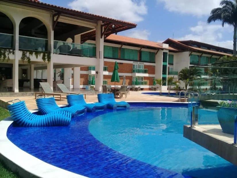 hotel com piscina em campina grande