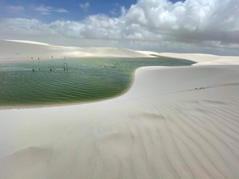 qual é a lagoa mais bonita dos lençóis maranhenses
